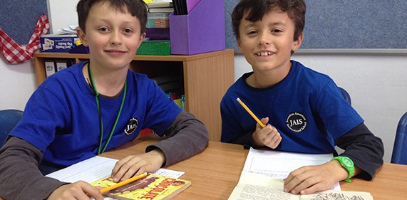 Elementary Language Learning at JAIS